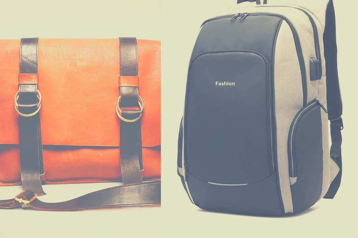 The battle of messenger bag and backpack